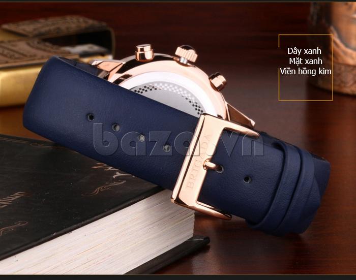 Đồng hồ nam Brigada 3017 thiết kế tinh tế