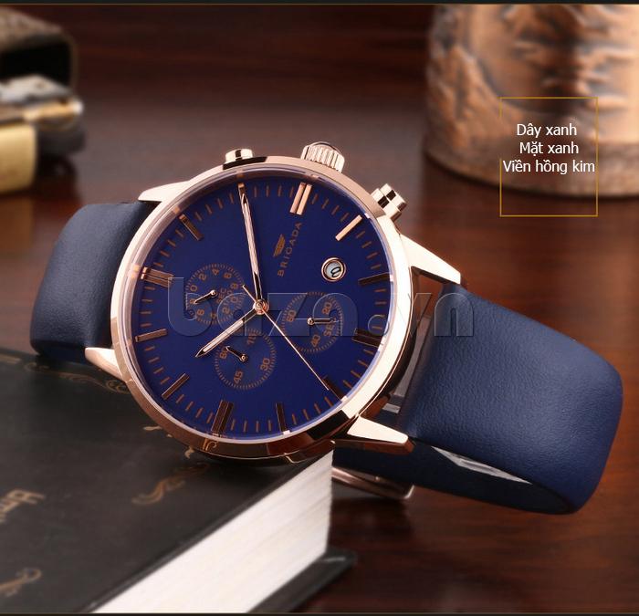 Đồng hồ nam Brigada 3017 thiết kế hoàn hảo