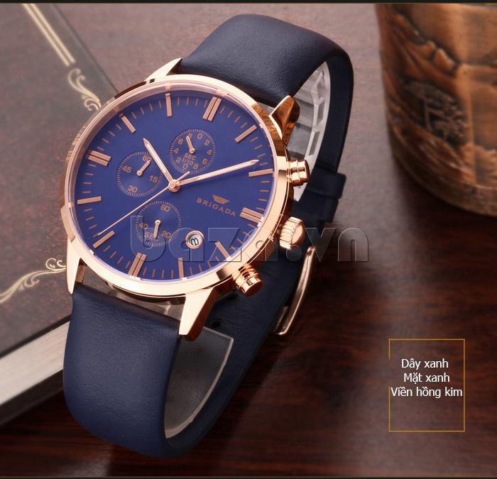 Đồng hồ nam Brigada 3017 thiết kế tuyệt vời