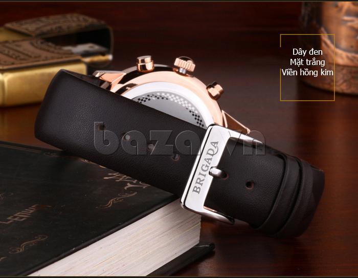 Đồng hồ nam Brigada 3017 thiết kế cá tính