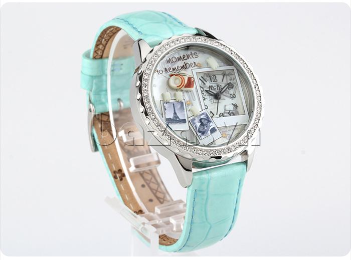 Đồng hồ nữ Mini Moment to Remember đường chỉ chắc chắn