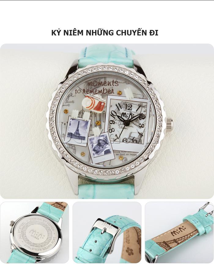 Đồng hồ nữ Mini Moment to Remember kỷ niệm những chuyến đi