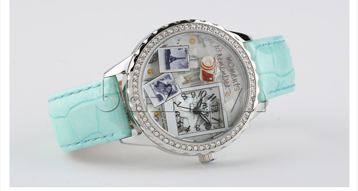 Đồng hồ nữ Mini Moment to Remember viền pha lê sáng rõ
