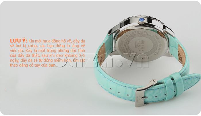 Đồng hồ nữ Mini Moment to Remember dây da thật, bền đẹp