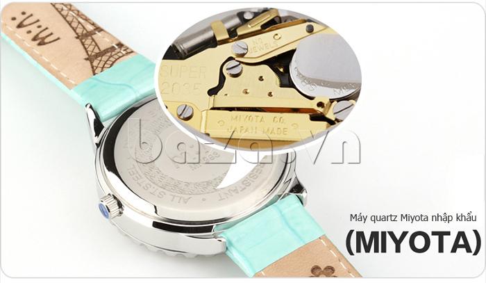Đồng hồ nữ Mini Moment to Remember máy quartz nhập khẩu từ Nhật Bản