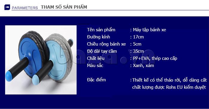 Bộ dụng cụ bánh xe tập thể dục EG - hình ảnh sản phẩm