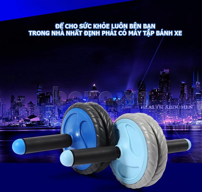 Bộ dụng cụ bánh xe tập thể dục EG cao cấp