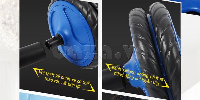 Bộ dụng cụ bánh xe tập thể dục EG an toàn