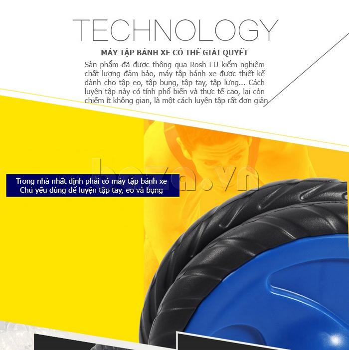 Bộ dụng cụ bánh xe tập thể dục EG cao cấp mới lạ