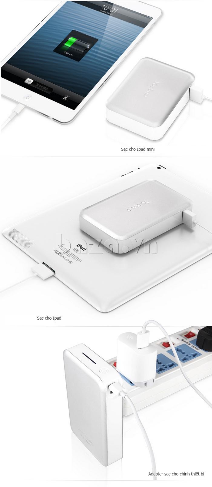 Pin dự phòng di động 13000mA Yoobao YB659 ấn tượng