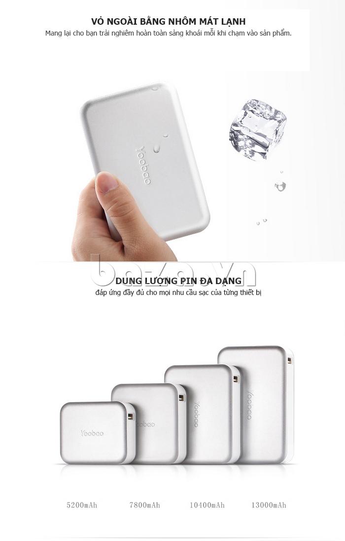Pin dự phòng di động 13000mA Yoobao YB659 độc
