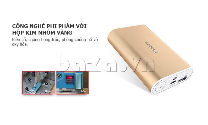 Pin dự phòng di động 6000mAh Yoobao YB-6023 độc đáo
