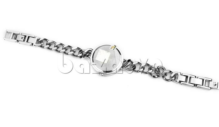 Đồng hồ nữ mặt tròn Julius JA-561 dây đeo kiểu dáng mới lạ