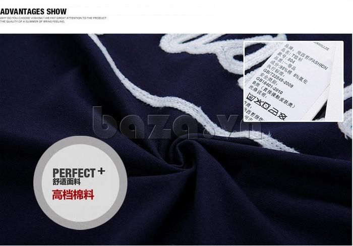 Áo thun nam  Sinhillze 804 mặt vải mềm mại