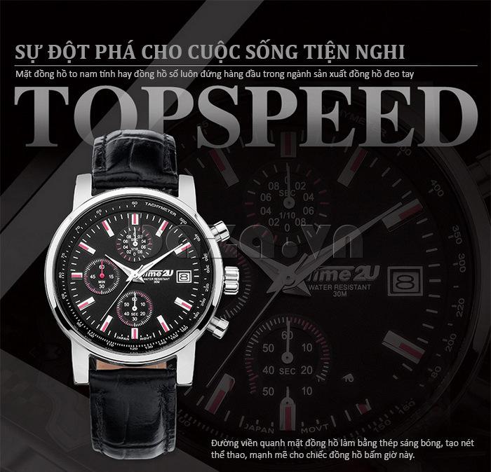 đồng hồ nam Time2U Topspeed - Sự đột phá cho cuộc sống tiện nghi