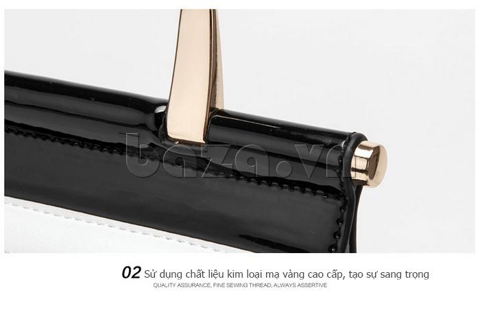 Túi nữ da rắn Binnitu chất liệu cao cấp