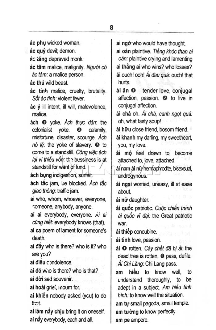 Từ điển Việt - Anh dành cho học sinh - sách hay nên đọc