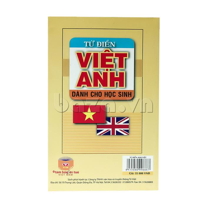 Sách Từ điển Việt - Anh dành cho học sinh