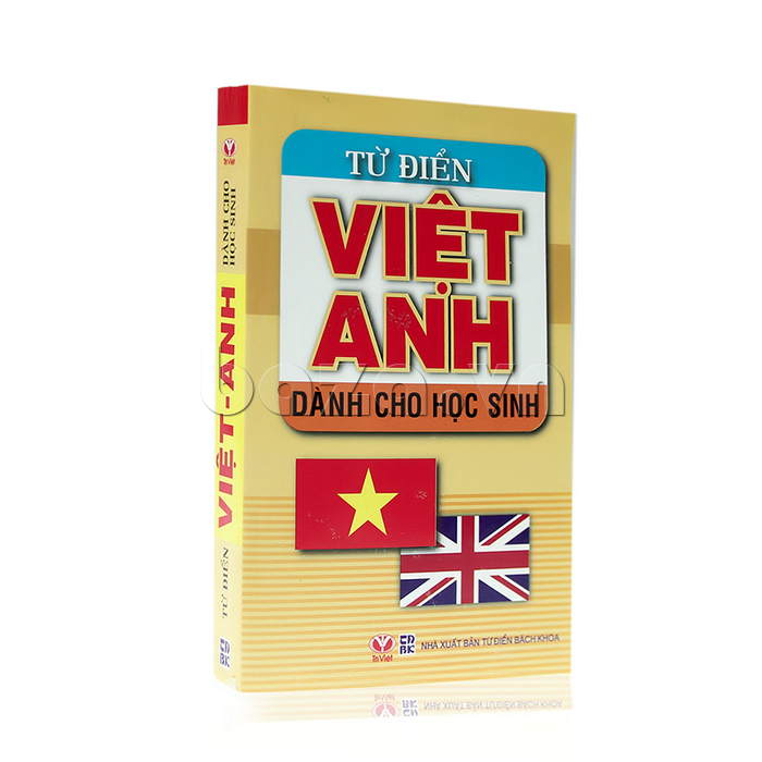 Sách kiến thức Từ điển Việt - Anh dành cho học sinh