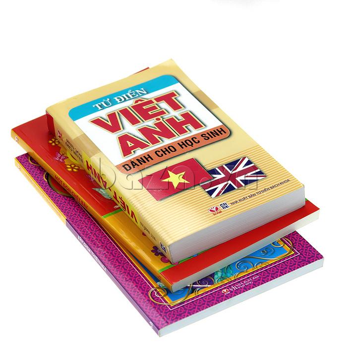 Từ điển Việt - Anh dành cho học sinh - sách kiến thức bổ ích