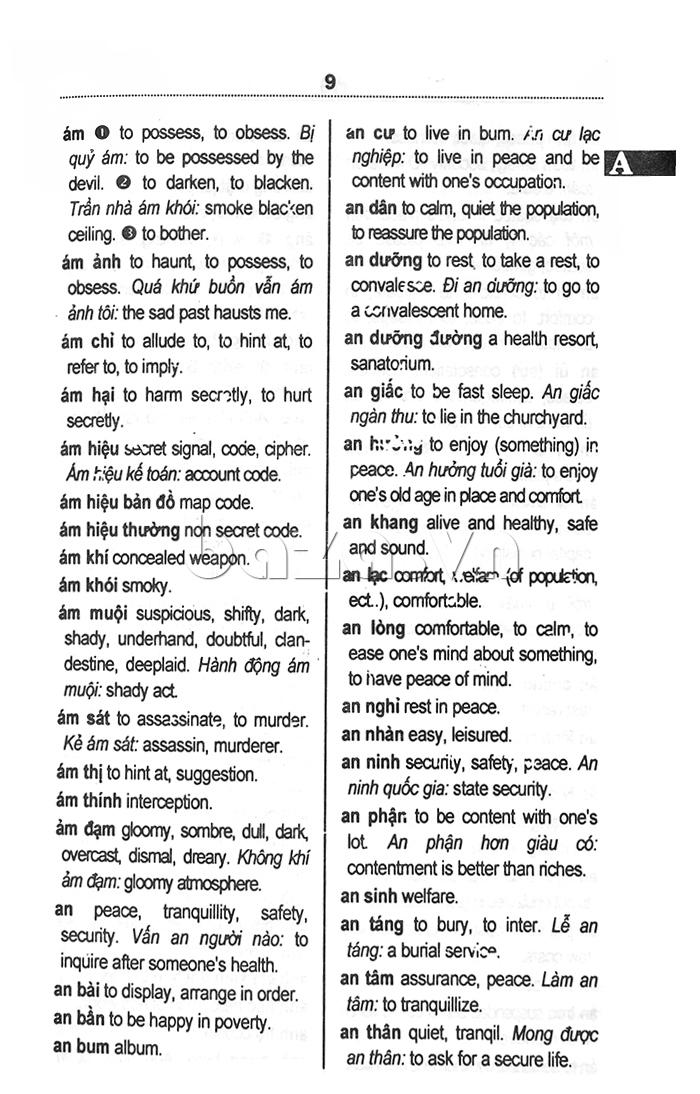 Từ điển Việt - Anh dành cho học sinh - sách hay cho học sinh