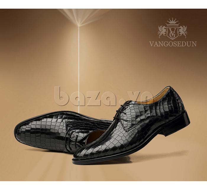 Giày da nam Vangosedun Y10316 sang trọng và lịch lãm