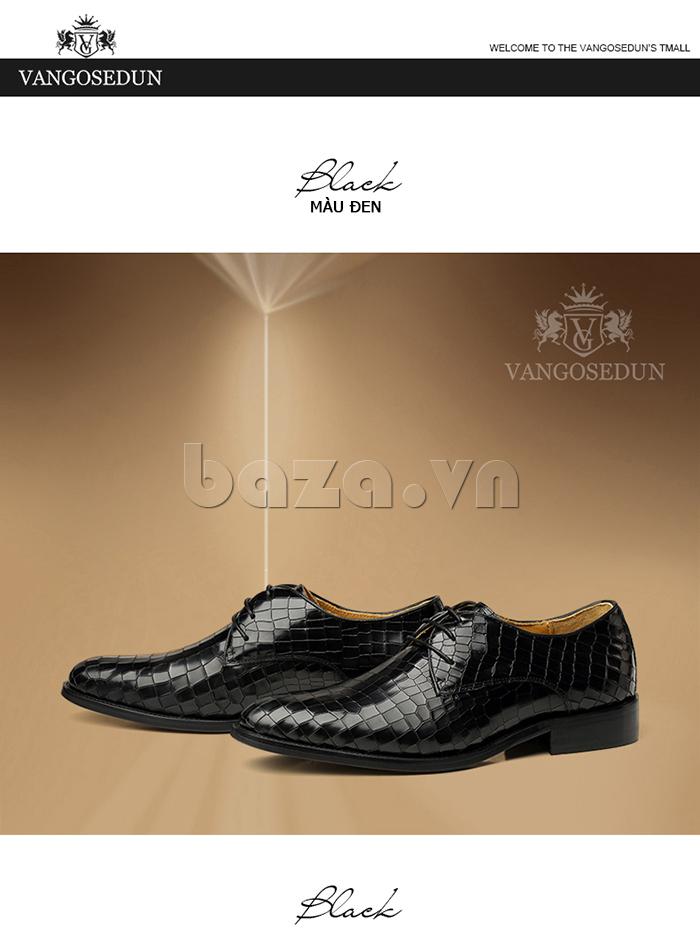 Giày da nam Vangosedun Y10316 thời trang công sở cuốn hút