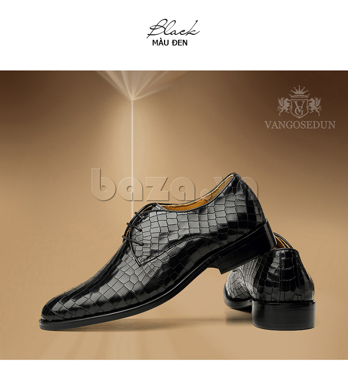 Giày da nam Vangosedun Y10316 thời trang đẳng cấp cho nam giới
