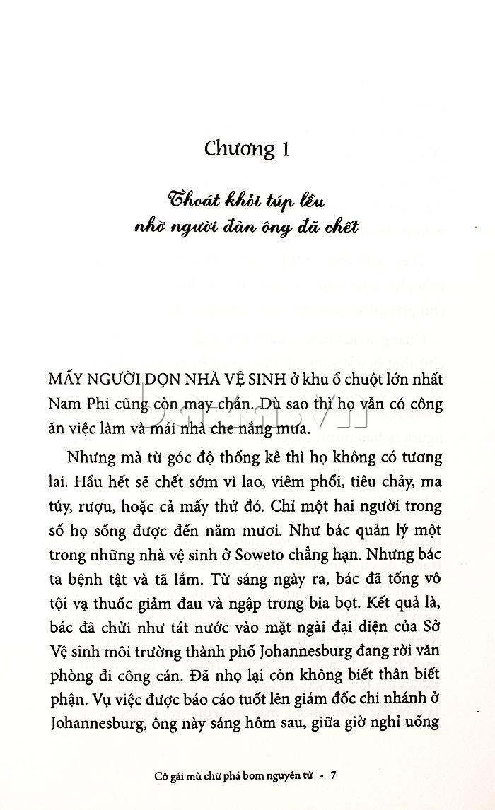 Cô gái mù chữ phá bom nguyên tử- Jonas Jonasson cuốn sách ấn tượng