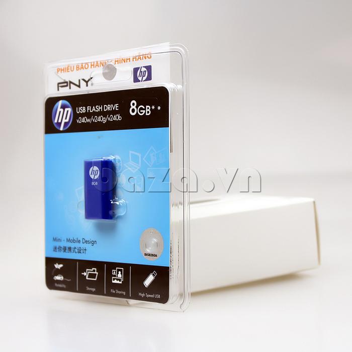 Thẻ nhớ USB HP 240 8G chính hãng