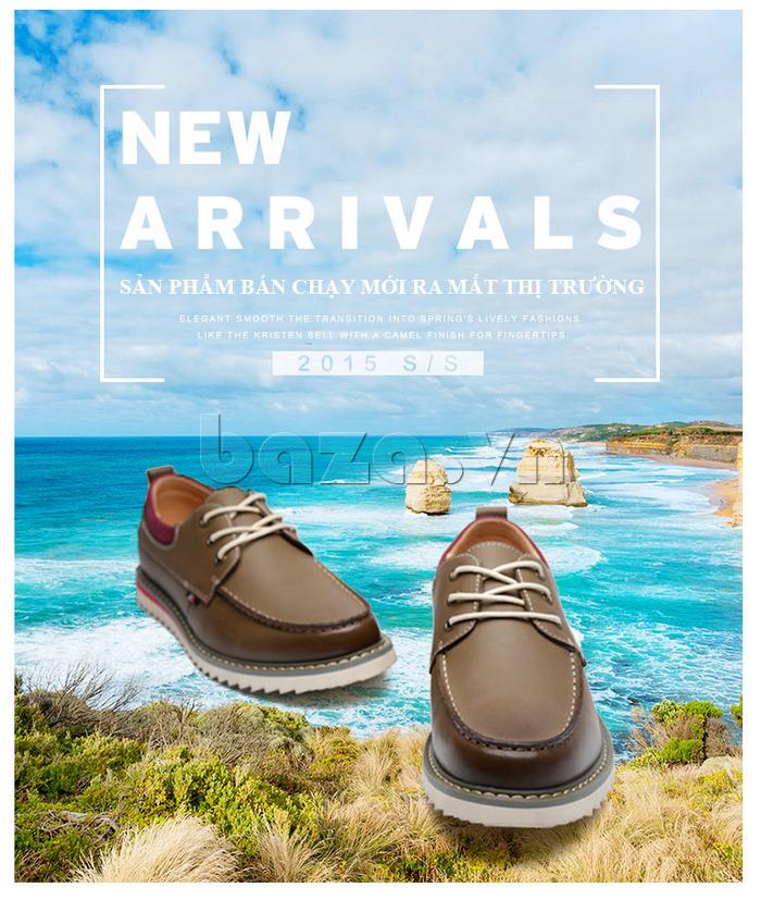Giày da nam  Simier 8125 - sản phẩm bán chạy