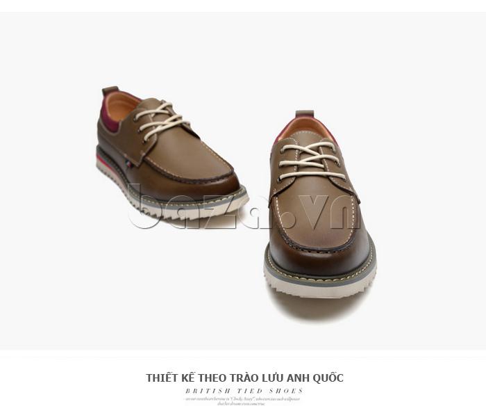Giày da nam  Simier 8125 giầy da đẳng cấp