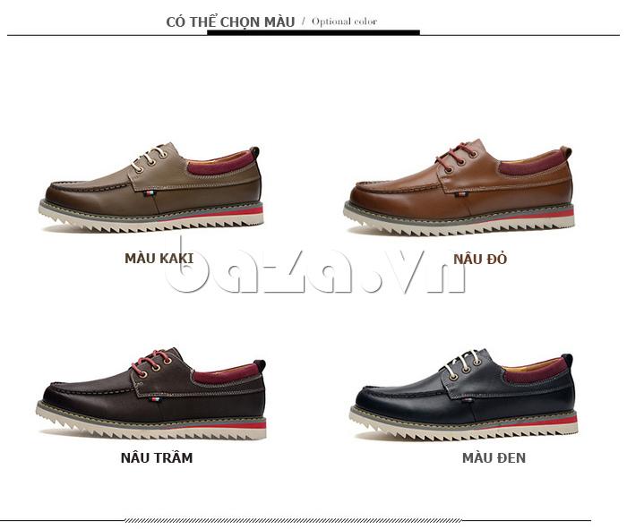 Giày da nam  Simier 8125 - màu sắc đa dạng