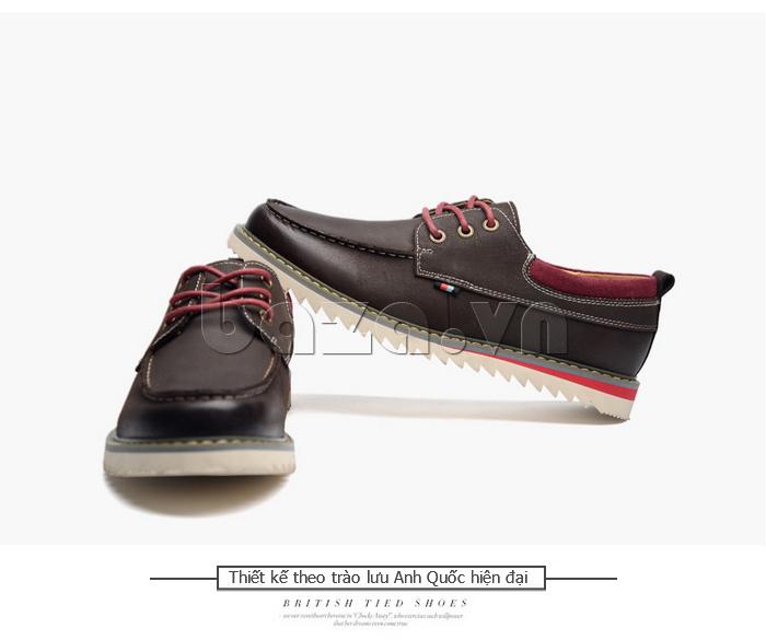 Giày da nam  Simier 8125 - đường nét tinh tế