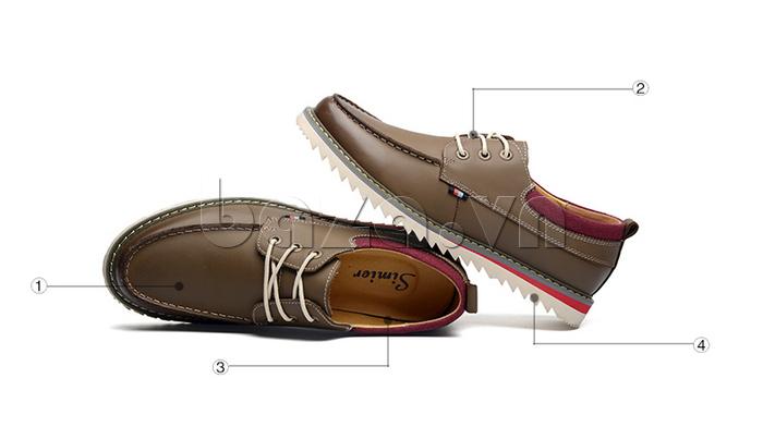 Giày da nam  Simier 8125 - giầy nam đẳng cấp