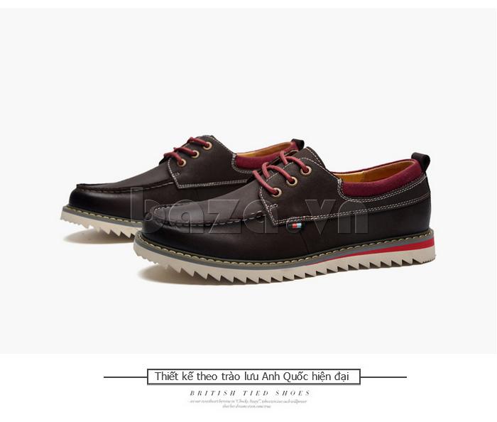 Giày da nam  Simier 8125 - phong cách đặc sắc