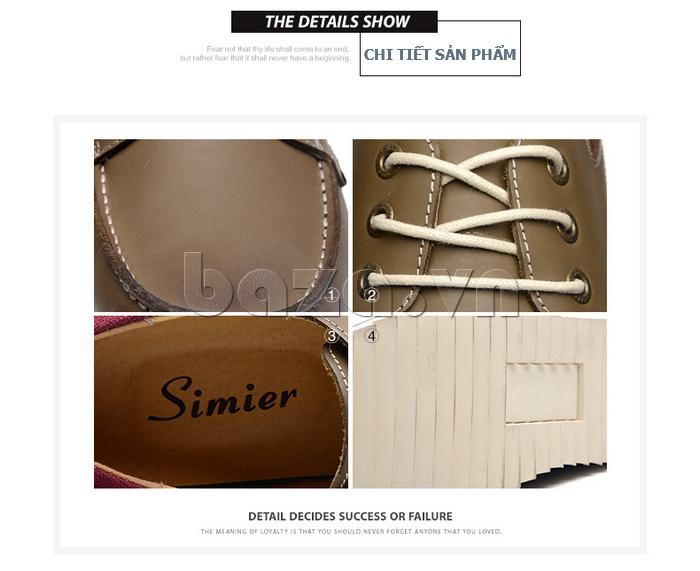 Chi tiết sản phẩm Giày da nam  Simier 8125