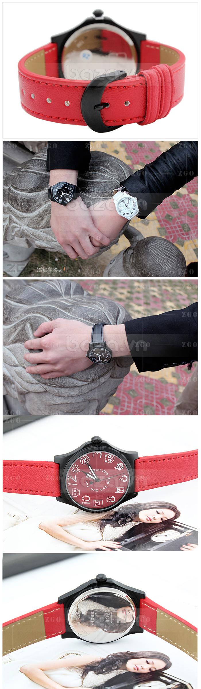 Đồng hồ thời trang KIMIO biểu tượng ngộ nghĩnh màu sắc ấn tượng