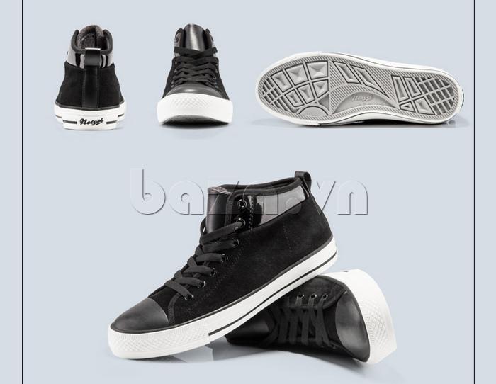 Những góc nhìn khác nhau của Giày da lộn nam tăng chiều cao Notyet NY-LD4169