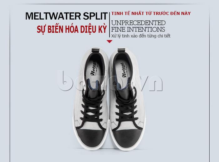 Giày da lộn nam tăng chiều cao Notyet NY-LD4169 được xử lý tinh xảo đến từng chi tiết