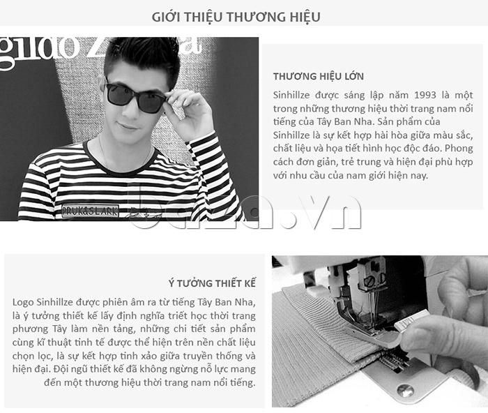 Áo nam SINHILLZE Phong cách Thời trang 120363- giới thiệu