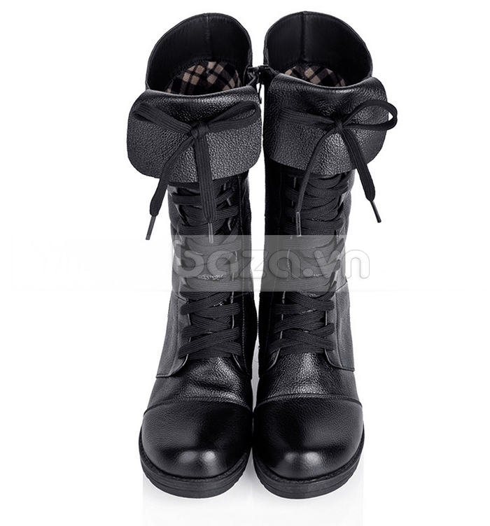 Đừng bỏ qua mẫu giày combat boots thời trang này từ Baza bạn nhé!