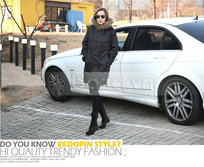 Baza.vn: Giày bốt nữ thời trang YiYa YY998-6