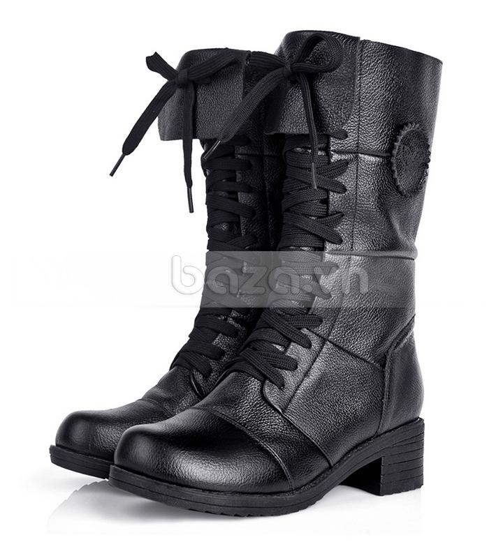 Giày bốt nữ thời trang  Yiya dòng combat boots sẽ cùng bạn khẳng định cá tính