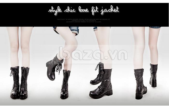 Nhìn từ mọi góc độ, đôi giày nữ đều toát lên vẻ đẹp khó cưỡng