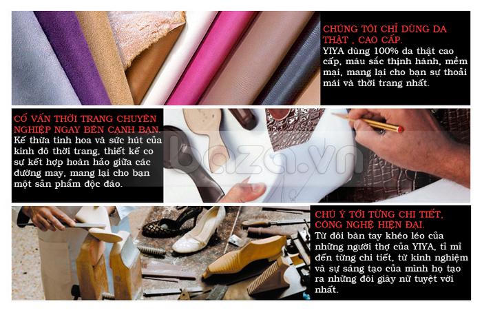 Đôi bàn tay tài hoa của nhà thiết kế đã tạo nên những đôi giày đẳng cấp từ những nguyên liệu cao cấp nhất
