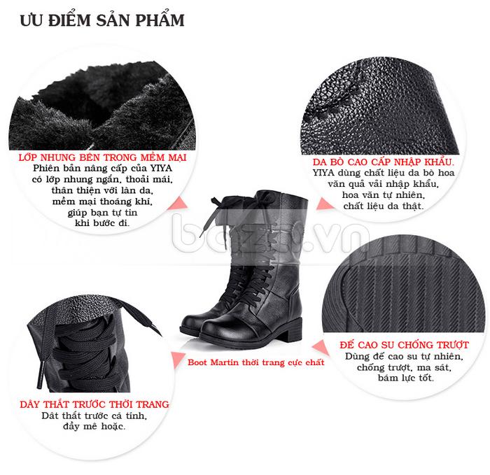 Các nguyên liệu tự nhiên làm nổi bật những ưu điểm của đôi giày nữ thời trang