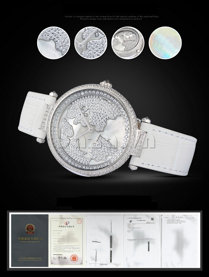 """Đồng hồ nữ """" Đồng hồ nữ Pinch L9506 """" tinh tế và thanh lịch"""