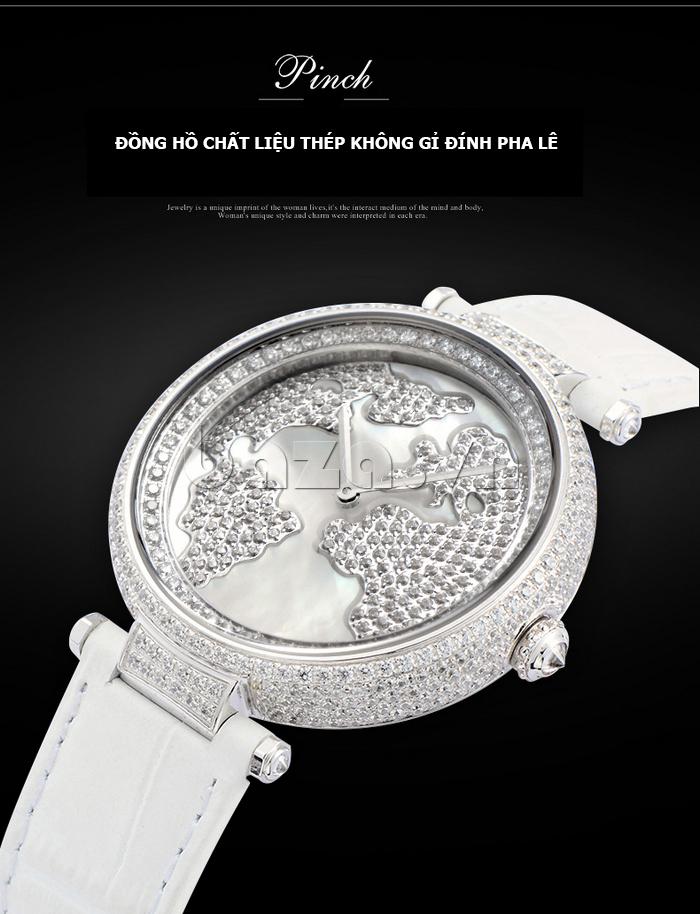 """Đồng hồ nữ """" Đồng hồ nữ Pinch L9506 """" cao cấp bền đẹp"""