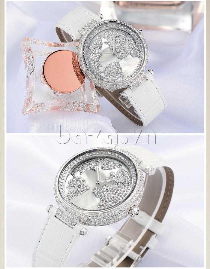 """Đồng hồ nữ """" Đồng hồ nữ Pinch L9506 """" vẻ đẹp thuần khiết"""